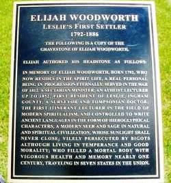 Woodworth Plaque